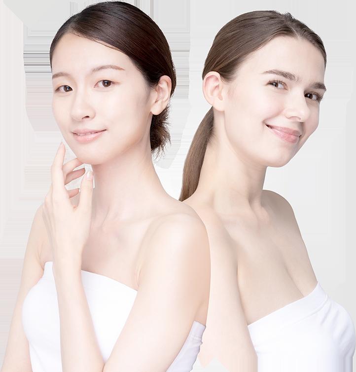 加盟店サポートページ メインビジュアル 2人の女性の写真